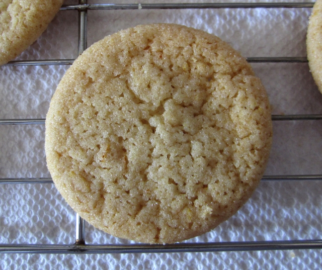 Honey, Orange & Ginger Cookie