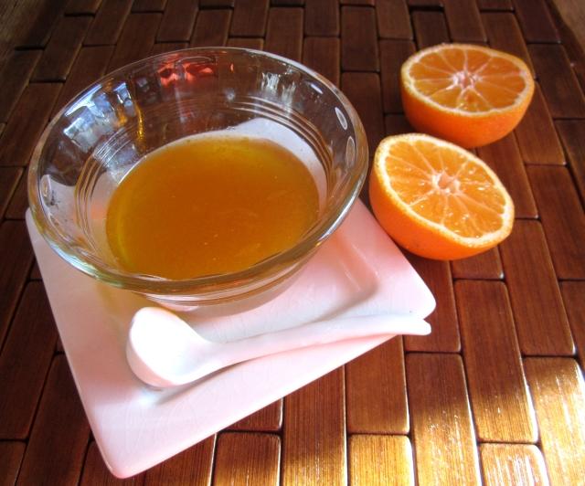 Honey Tangerine Glaze