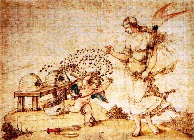 ancient history durer-eros-venus-abeilles